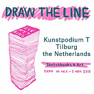Draw The Line, Sketchbooks + Art