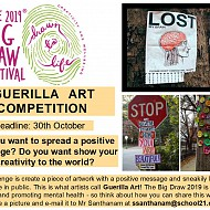 Guerilla Art Competition!