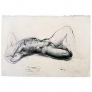 Henry Moore, 'Reclining Male Nude' 1922