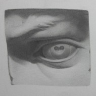 Michaelangelo's David's Eye Cast