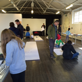 STEAM Powered Big Draw in Berwick