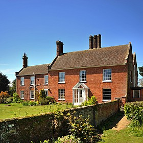 Side view of The Red House, Aldeburgh
