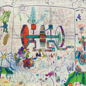 Robyns engine running on dream power
