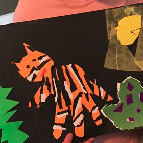 Year 1 artwork by Minnie