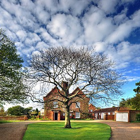 The Red House, Aldeburgh entrance