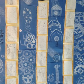Blue prints and Lowry factories