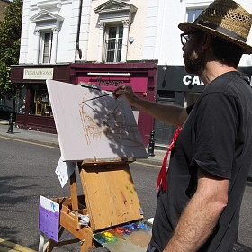 painting on the Kings Road