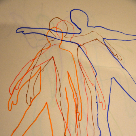 The moving figure explored at Mayfield Primary School