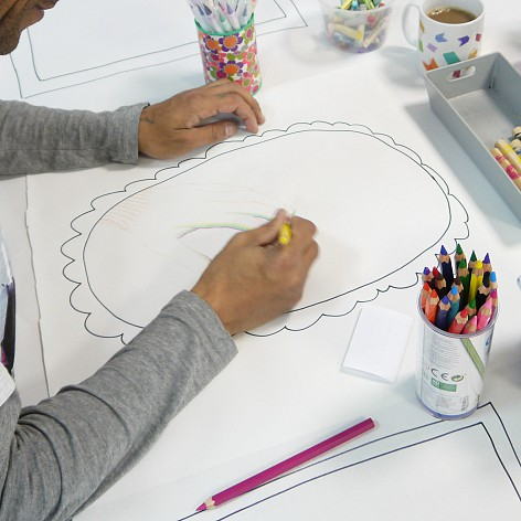 The Big Draw(ing) Drop-In 10/10/19 Chorley Library