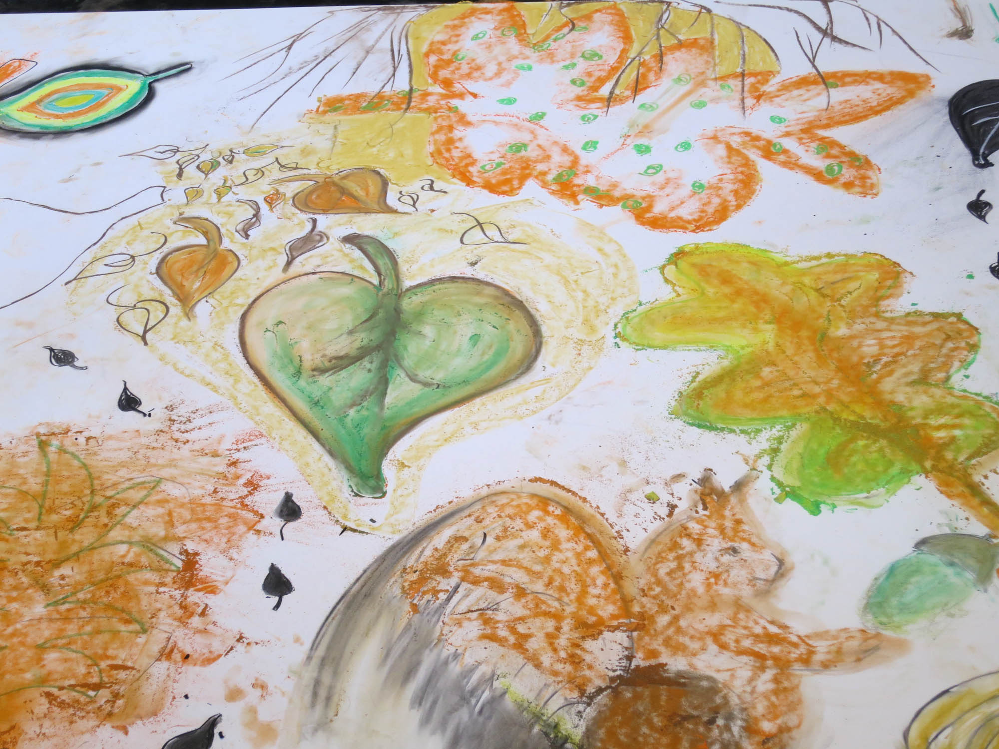 Drawing From Nature With Children In Amsterdam