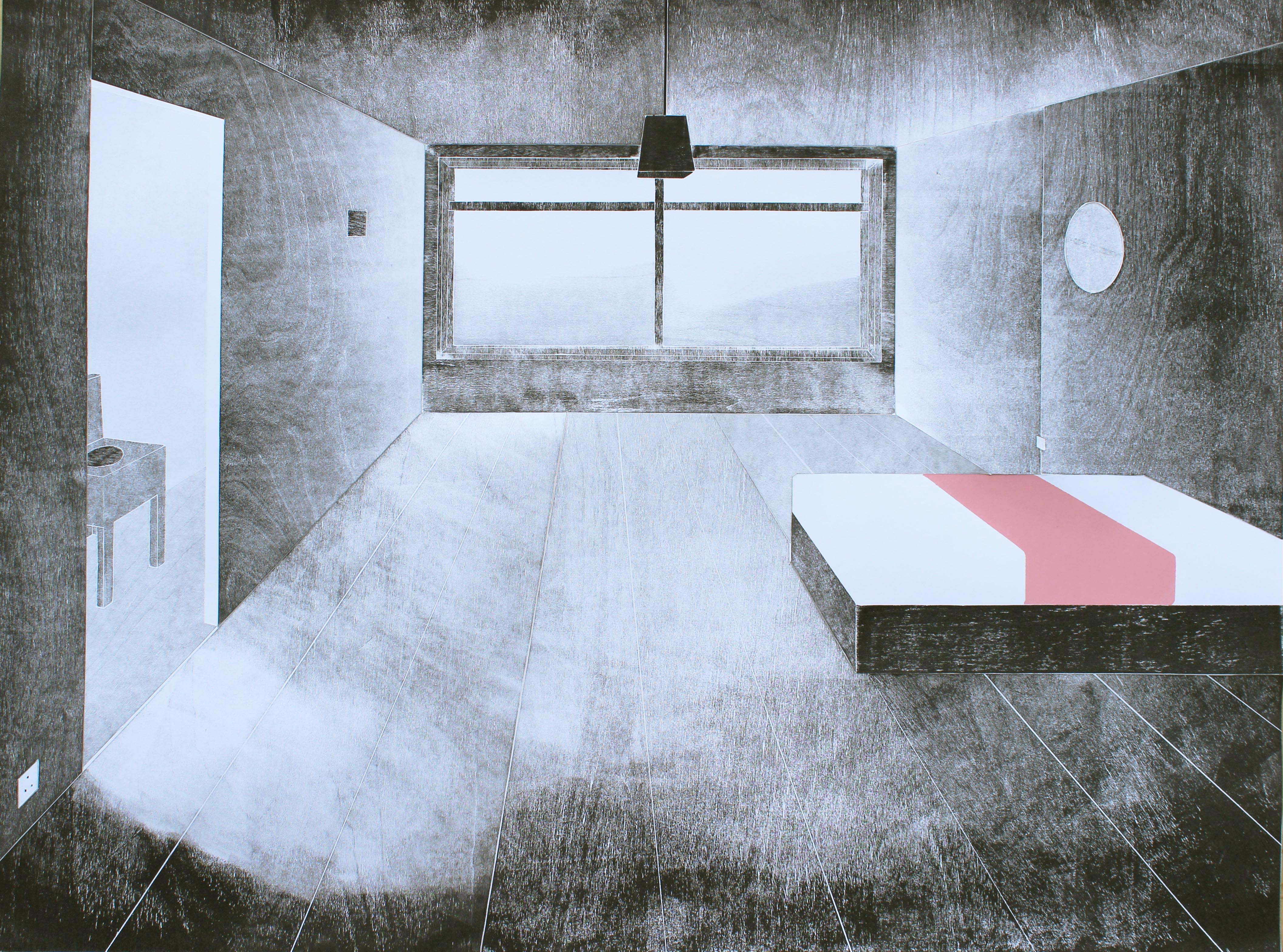 Peter Haugh, Single Room With Ensuite, 2015